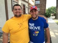 Daniel Falk & Chris Ash, summer youth ministry interns 2014.